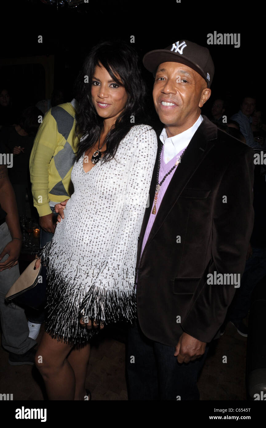Veronica Webb, Russell Simmons in attendance for Running Russell Simmons Series Premiere Hosted by Oxygen, LAVO, - Stock Image