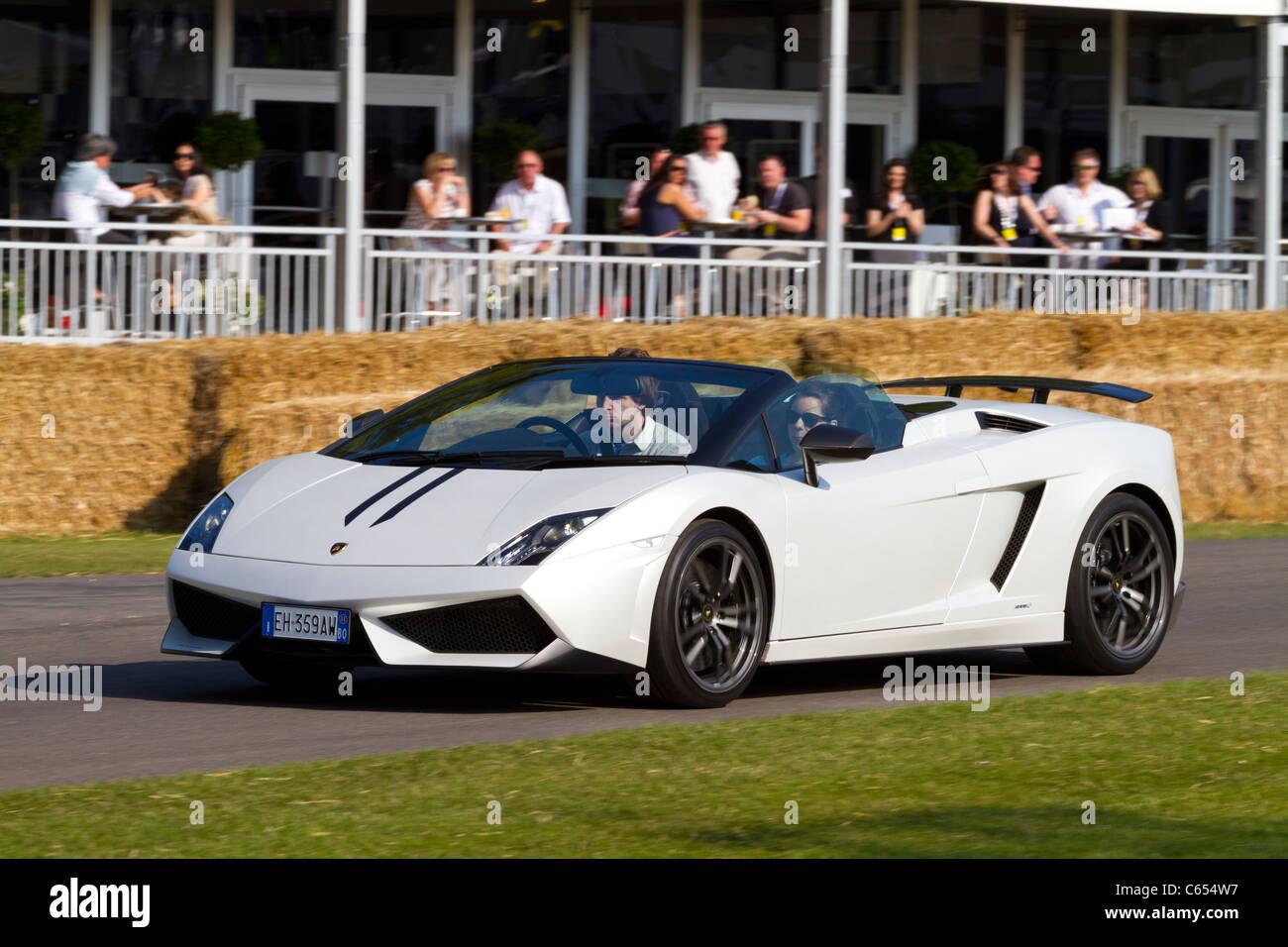 2011 Lamborghini Gallardo Spyder Performante At The Goodwood
