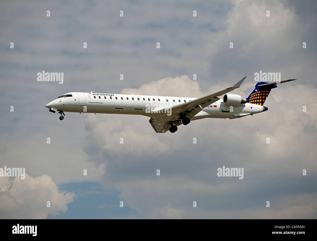 Eurowings Canadair CL-600-2D24 Regional Jet CRJ-900 NextGen   SCO 7581 Stock Photo