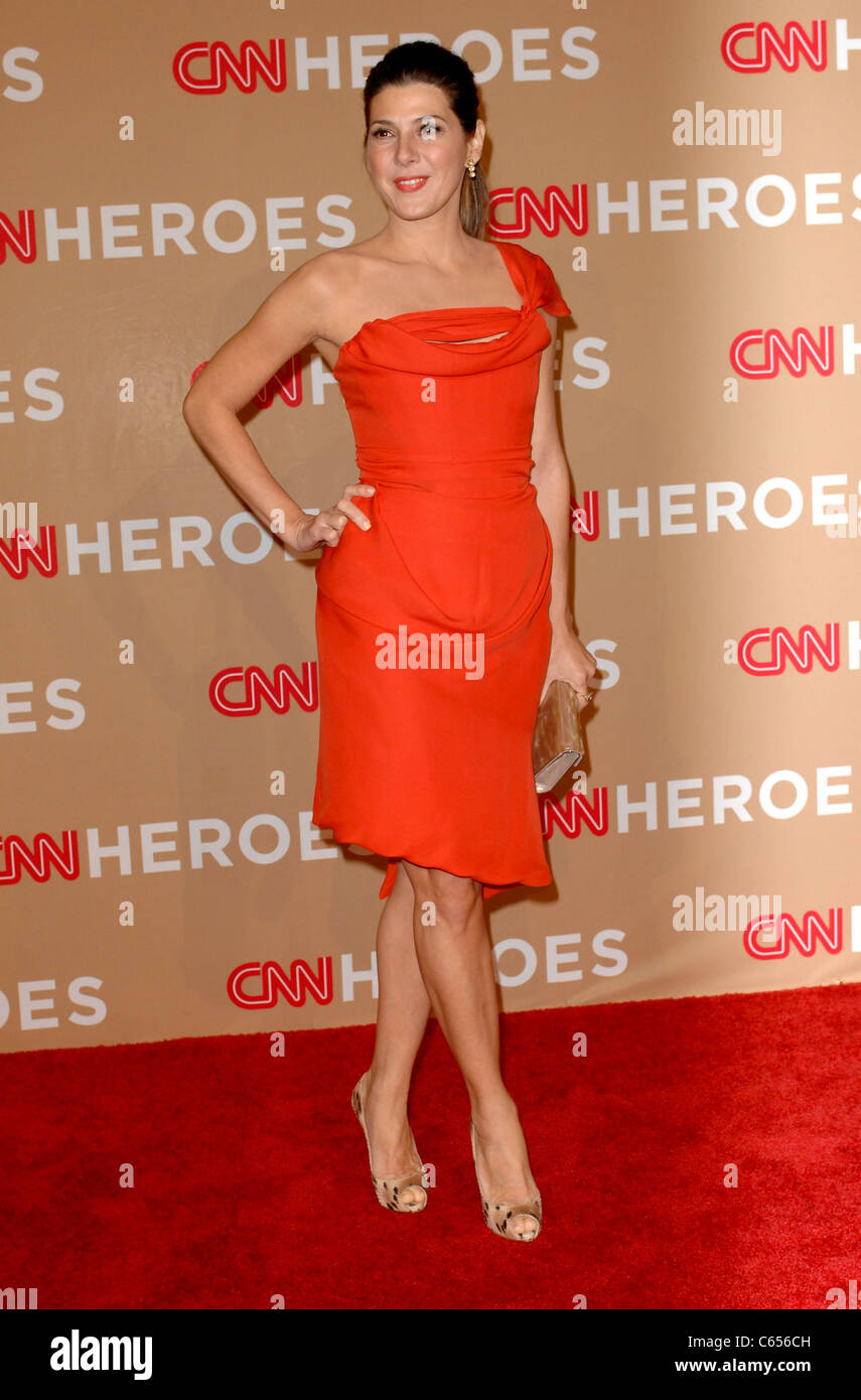 Marisa Tomei in attendance for CNN HEROES: An All-Star Tribute, Shrine Auditorium, Los Angeles, CA November 20, - Stock Image