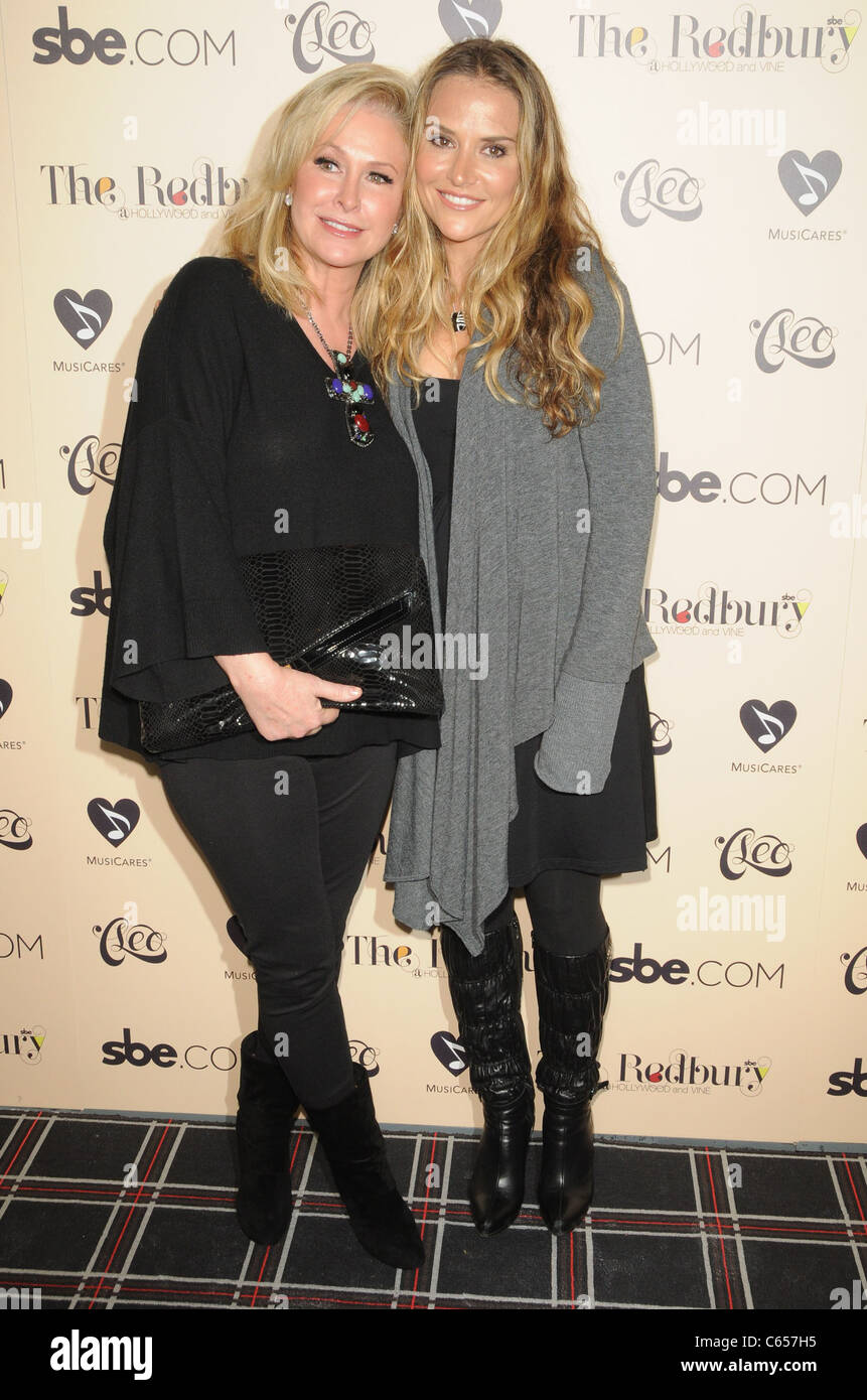 Kathy Hilton, Brooke Mueller in attendance for Grand Opening of sbe's The Redbury Hotel, Hollywood, Los Angeles, - Stock Image