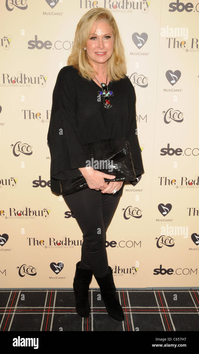 Kathy Hilton in attendance for Grand Opening of sbe's The Redbury Hotel, Hollywood, Los Angeles, CA October - Stock Image