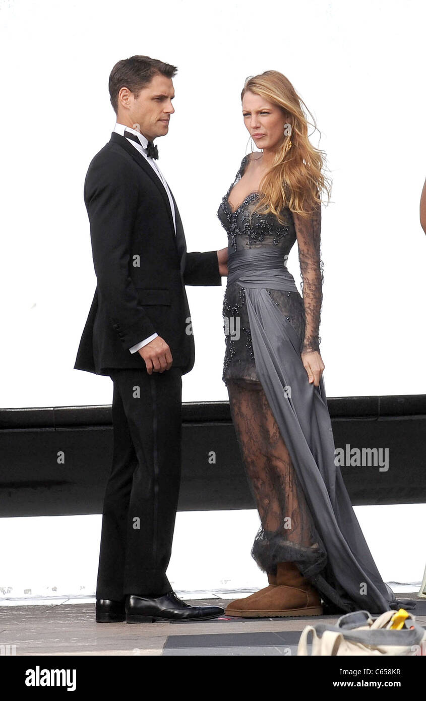 Blake Lively And Sam Page Stock Photos & Blake Lively And ...