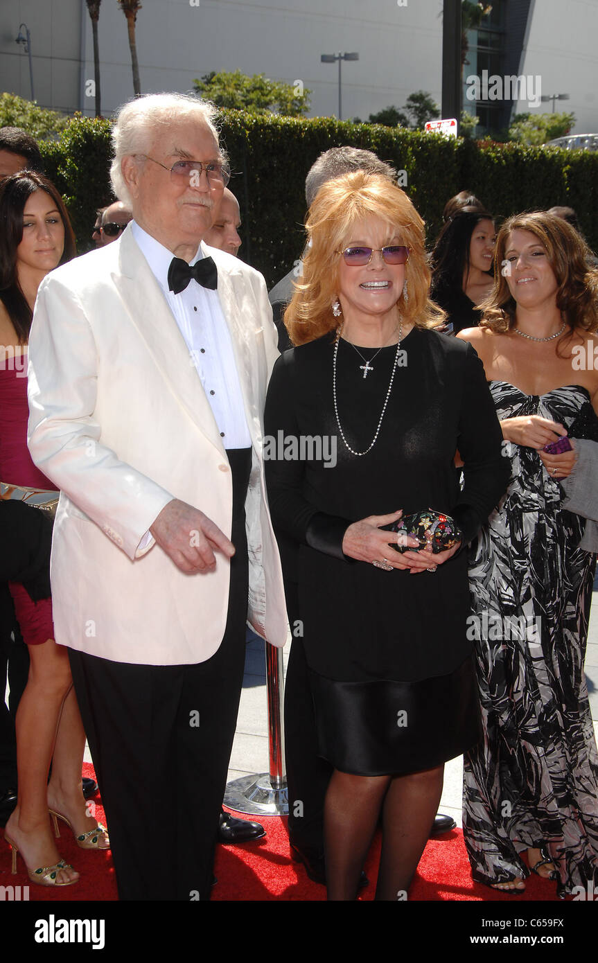Roger Smith, Ann-Margret at arrivals for 2010 Creative Arts Emmy Awards, Nokia Theater, Los Angeles, CA August 21, - Stock Image