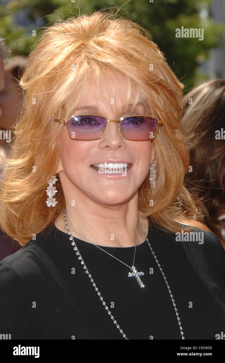 Ann-Margret at arrivals for 2010 Creative Arts Emmy Awards, Nokia Theater, Los Angeles, CA August 21, 2010. Photo - Stock Image
