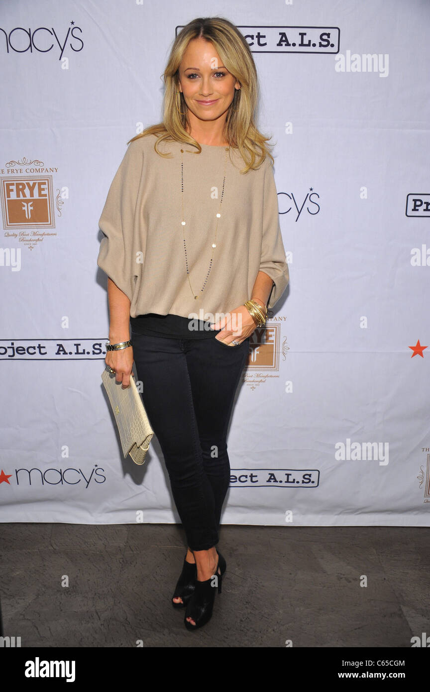 at arrivals for PROJECT A.L.S. Tomorrow is Tonight 13th Annual New York Event to Support ALS Research, Lucky Strike - Stock Image