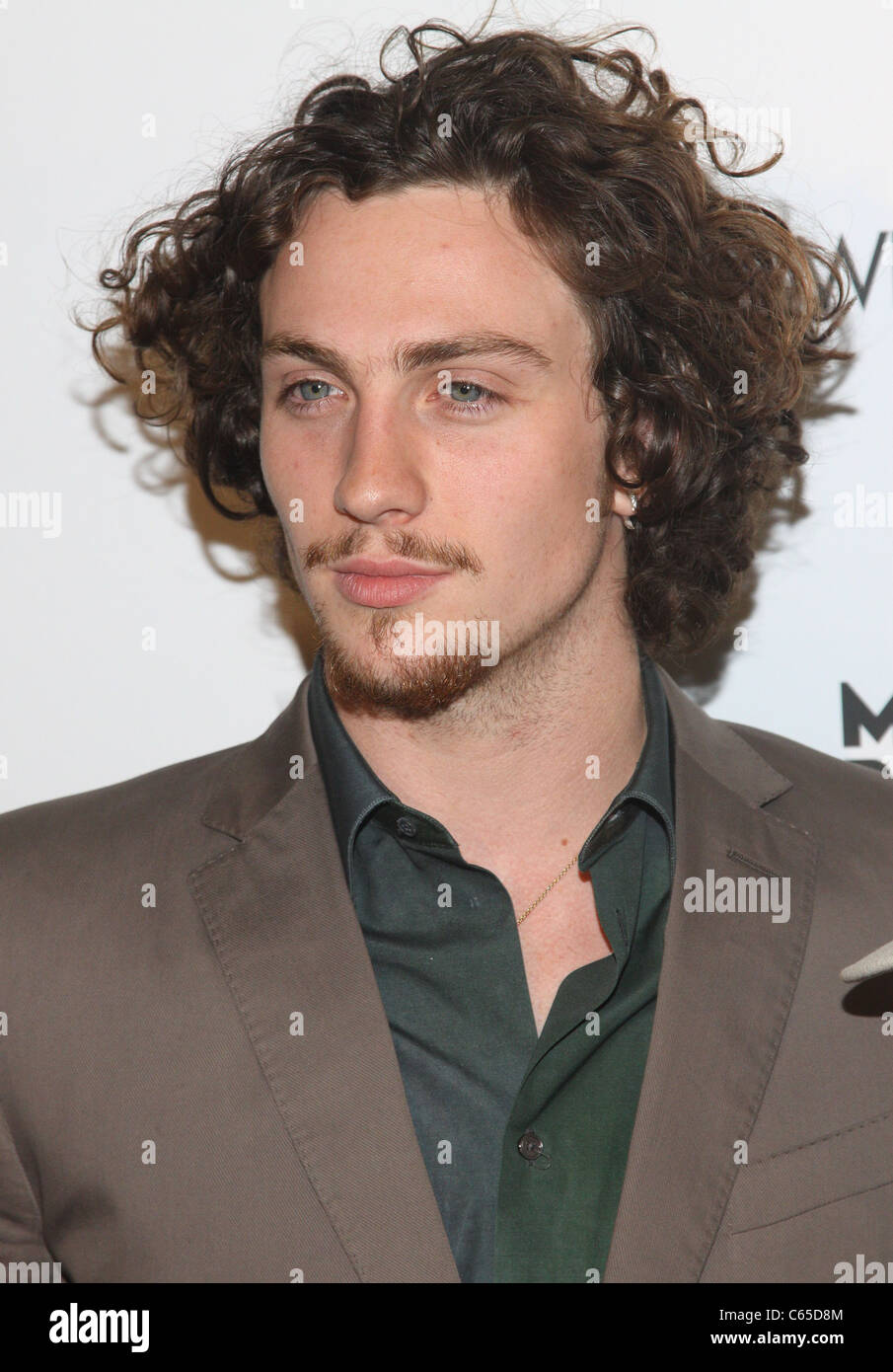 Aaron Johnson at arrivals for NOWHERE BOY Premiere, BMCC Tribeca Performing Arts Center, New York, NY September - Stock Image
