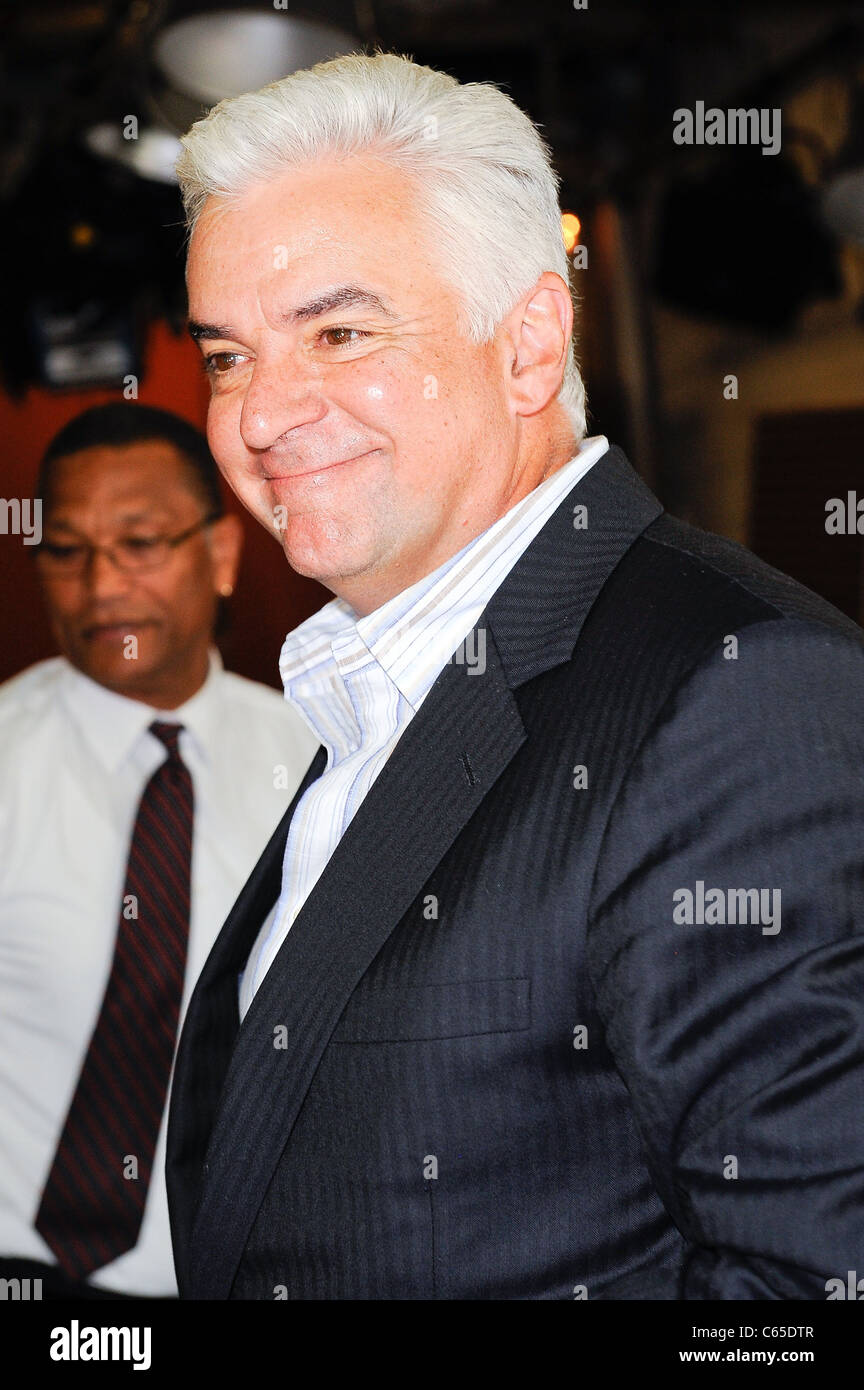 John O'Hurley, visits 'Live With Regis And Kelly' out and about for CELEBRITY CANDIDS - THURSDAY, , - Stock Image