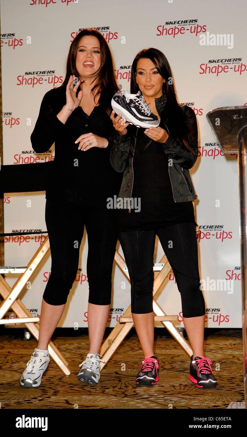 Khloe Kardashian, Kim Kardashian at the