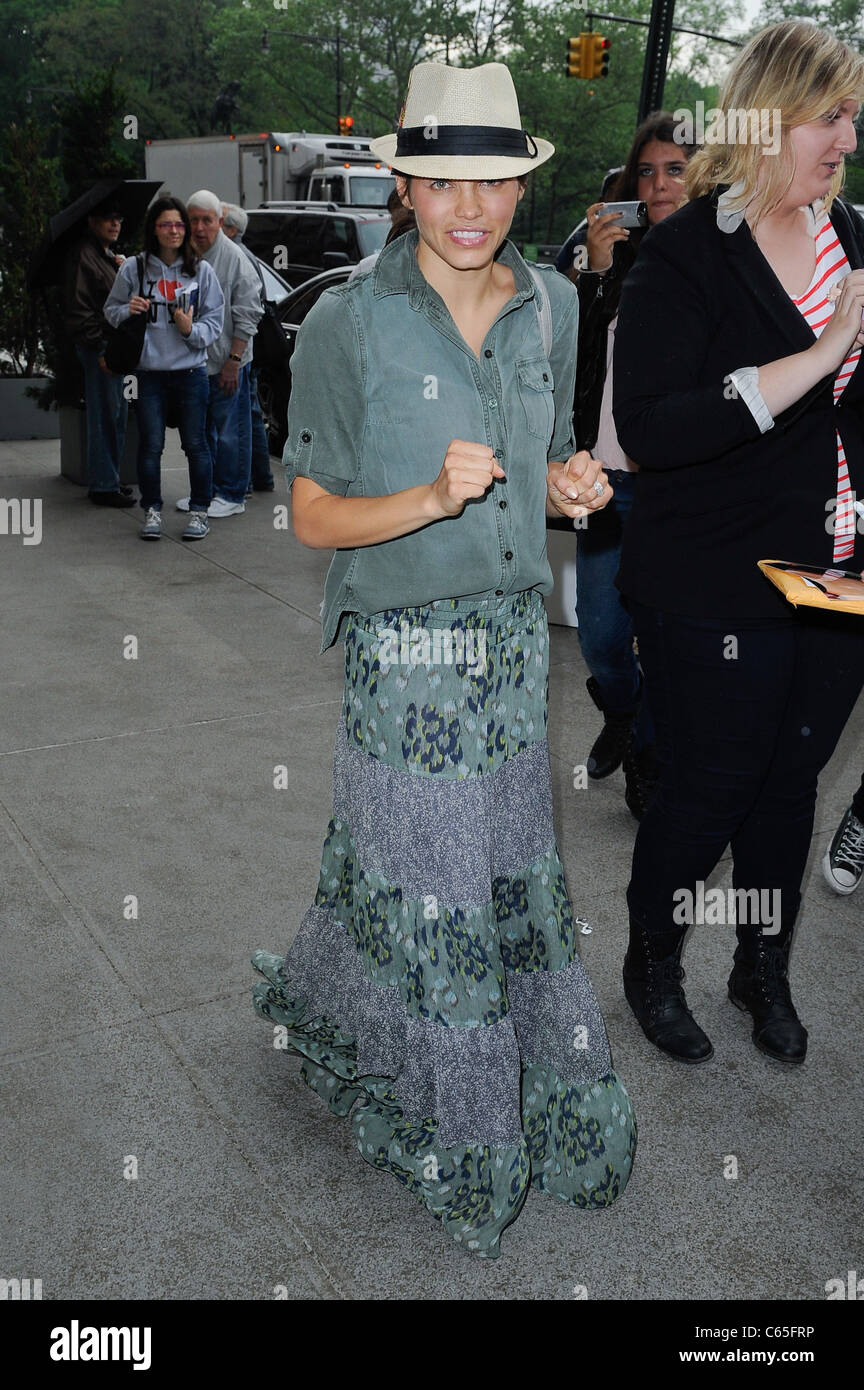 Jenna Dewan, enters a Midtown Manhattan hotel out and about for CELEBRITY CANDIDS - SUN, , New York, NY May 15, - Stock Image