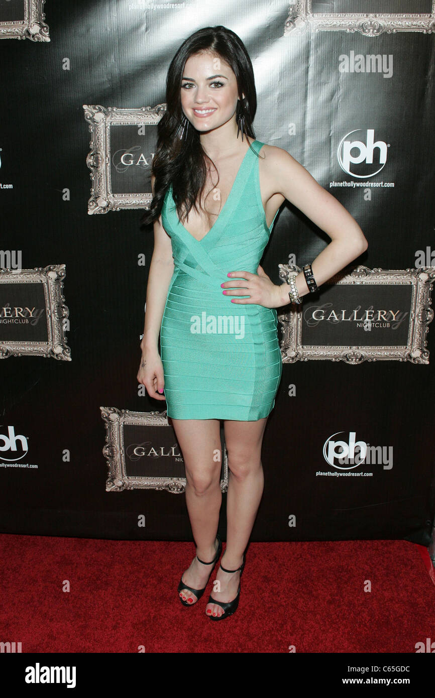 Lucy Hale at arrivals for Gallery Nightclub Opening Night Party ...