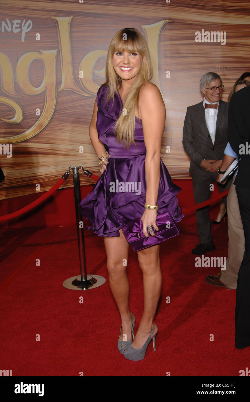 Grace Potter at arrivals for TANGLED Premiere, El Capitan Theatre, Los Angeles, CA November 14, 2010. Photo By: - Stock Image
