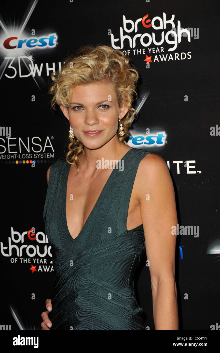Angel McCord at arrivals for 2010 Breakthrough of the Year Awards, Pacific Design Center, Los Angeles, CA August Stock Photo