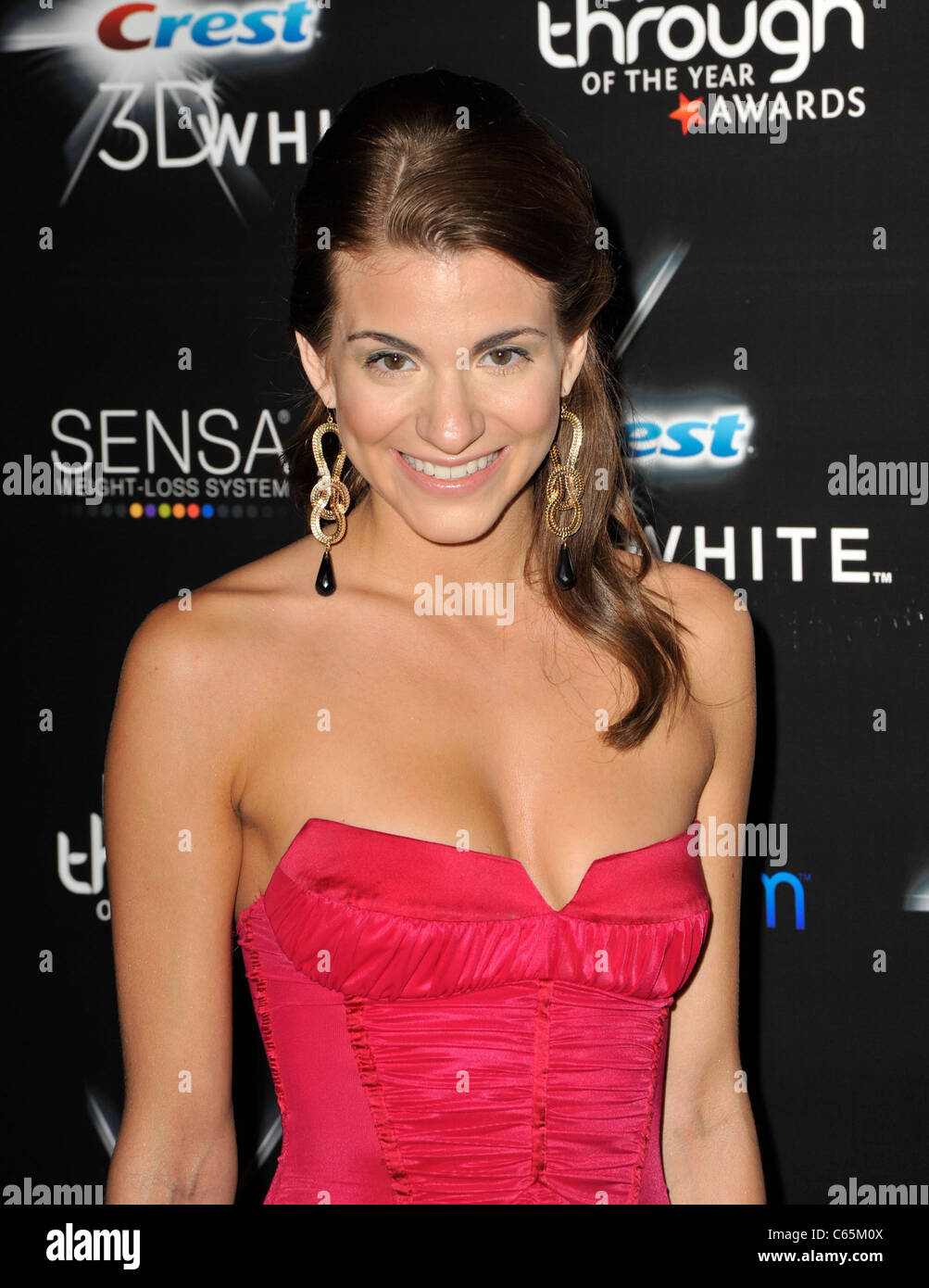 Rachel McCord at arrivals for 2010 Breakthrough of the Year Awards, Pacific Design Center, Los Angeles, CA August Stock Photo