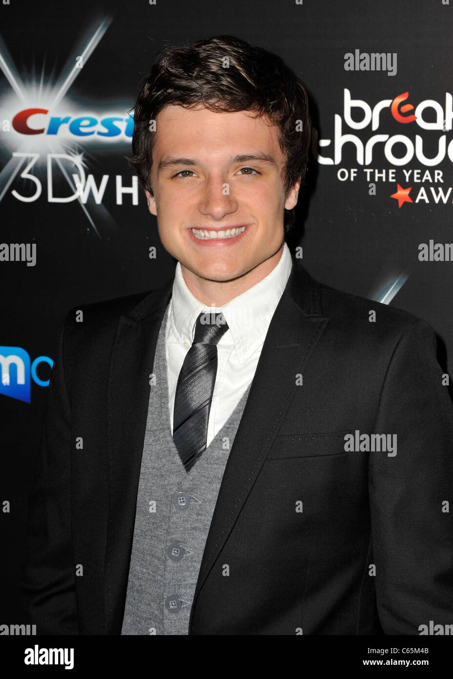 Josh Hutcherson at arrivals for 2010 Breakthrough of the Year Awards, Pacific Design Center, Los Angeles, CA August Stock Photo