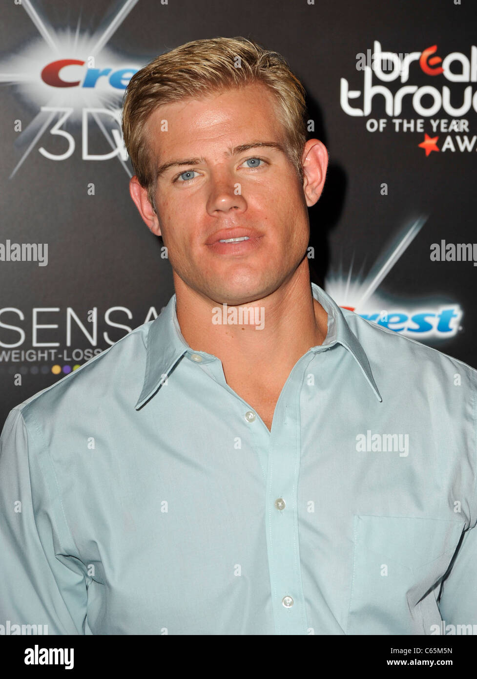 Trevor Donovan at arrivals for 2010 Breakthrough of the Year Awards, Pacific Design Center, Los Angeles, CA August Stock Photo