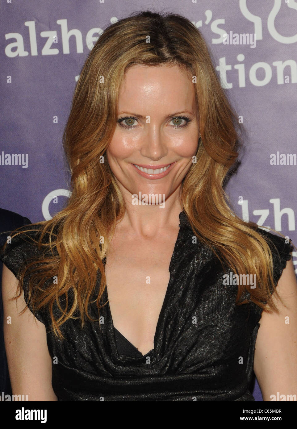 Leslie Mann in attendance for 19th Annual A Night at Sardi's Fundraiser and Awards Dinner, Beverly Hilton Hotel, - Stock Image