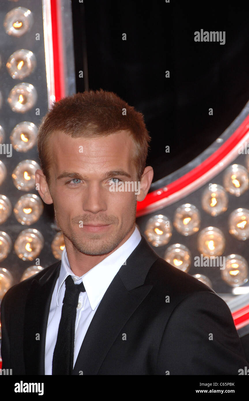 Cam Gigandet at arrivals for BURLESQUE Premiere, Grauman's Chinese Theatre, Los Angeles, CA November 15, 2010. - Stock Image
