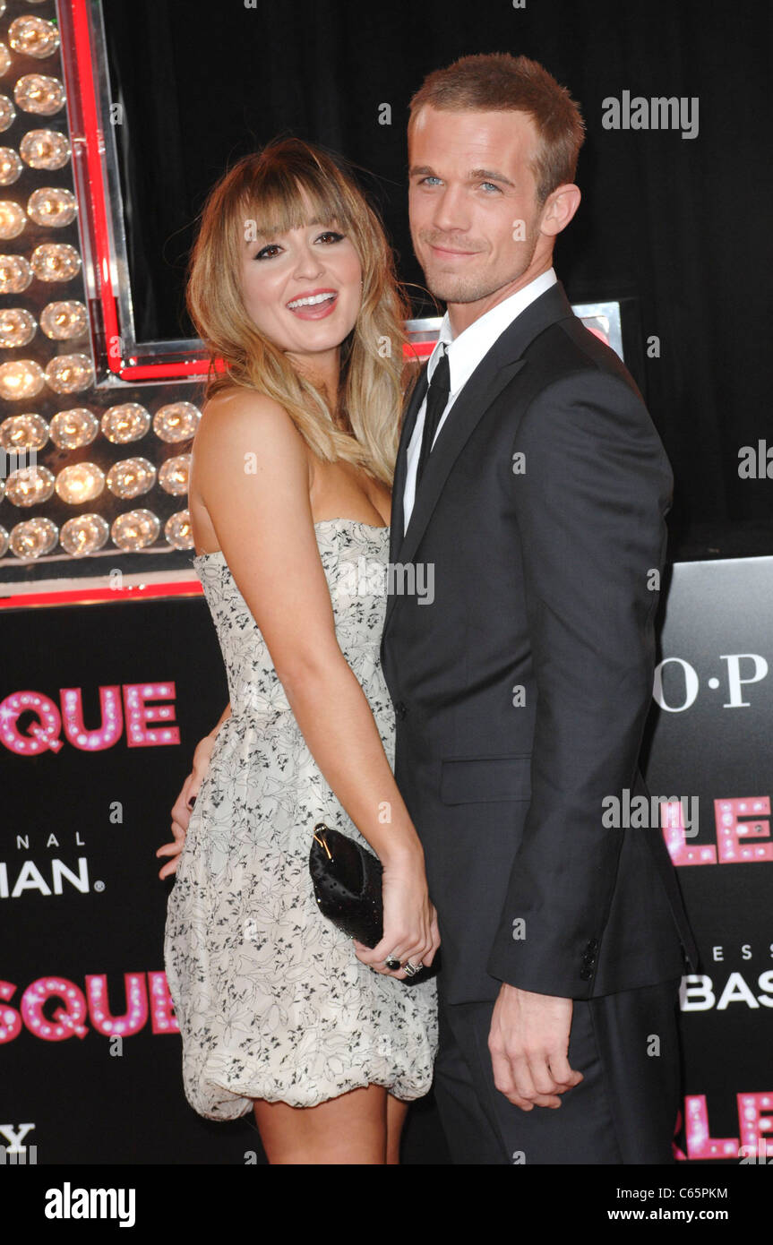 Cam Gigandet, guest at arrivals for BURLESQUE Premiere, Grauman's Chinese Theatre, Los Angeles, CA November - Stock Image