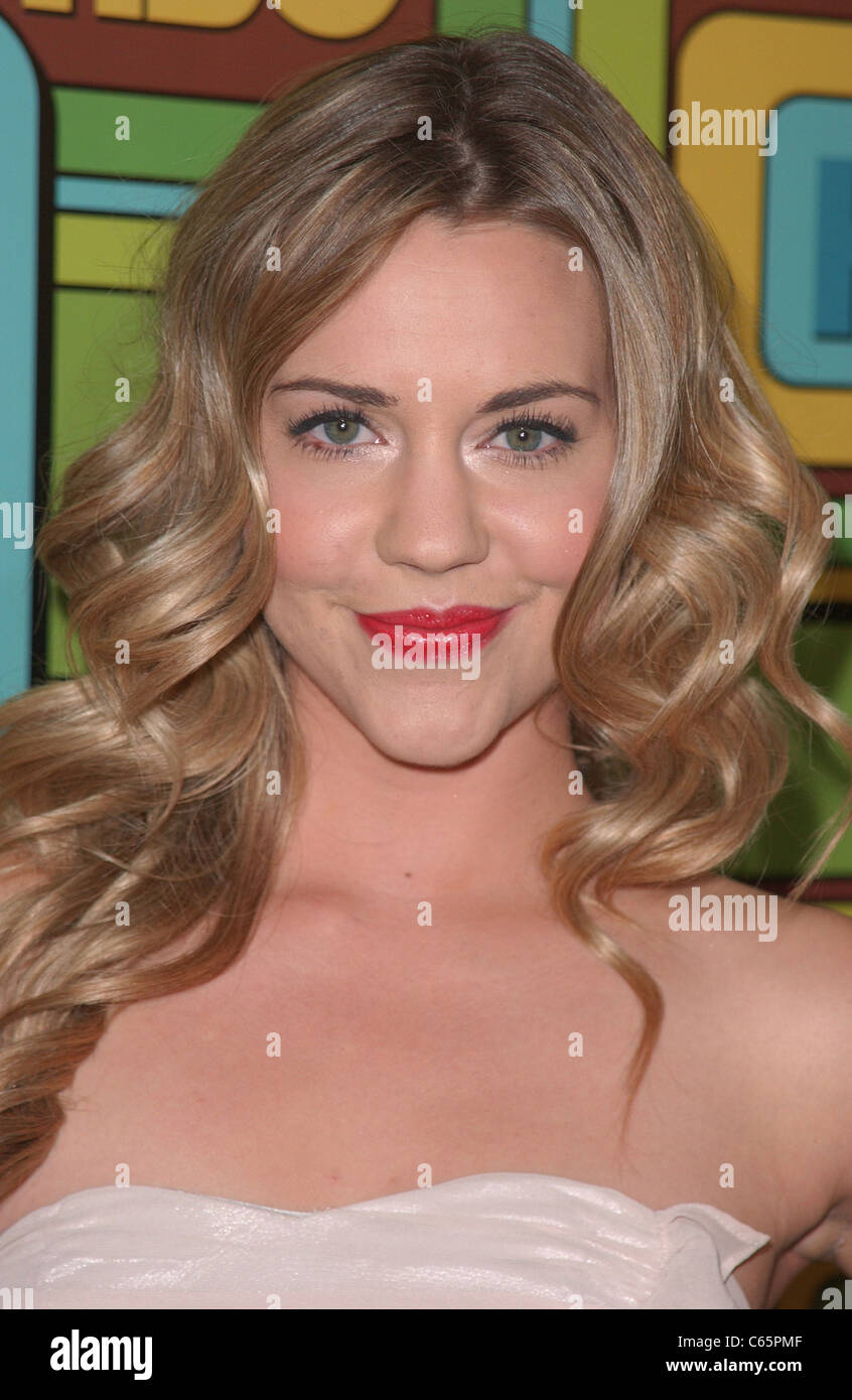 Samantha Cope at the after-party for HBO's 2011 Golden Globes After Party, Circa 55 Restaurant, Los Angeles, - Stock Image