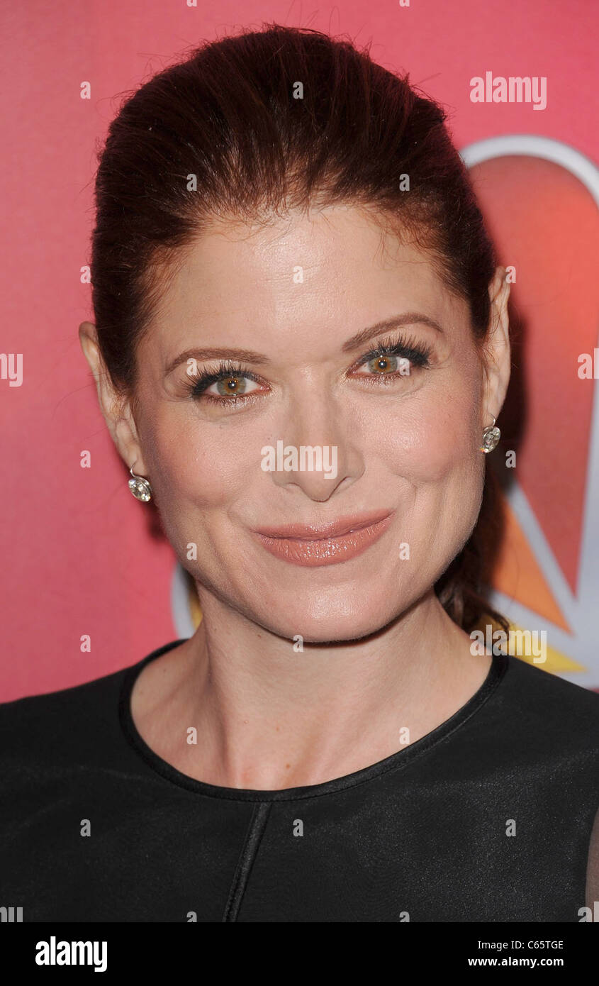 Debra Messing at arrivals for NBC Upfront Presentation for Fall 2011, Hilton New York, New York, NY May 16, 2011. - Stock Image