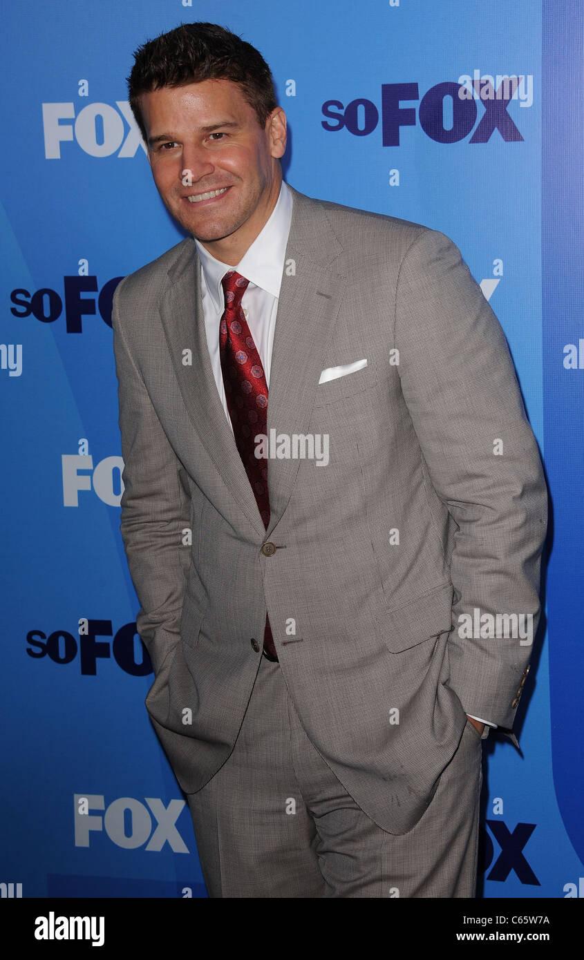 David Boreanaz at arrivals for FOX Upfront Presentation for
