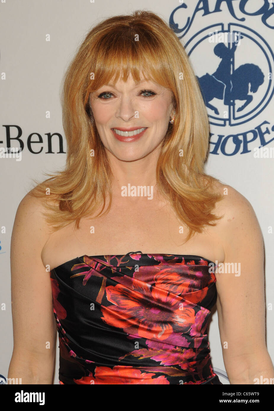 Francis Fisher at arrivals for 32nd Anniversary Carousel of Hope Ball Presented by Mercedes-Benz, Beverly Hilton - Stock Image