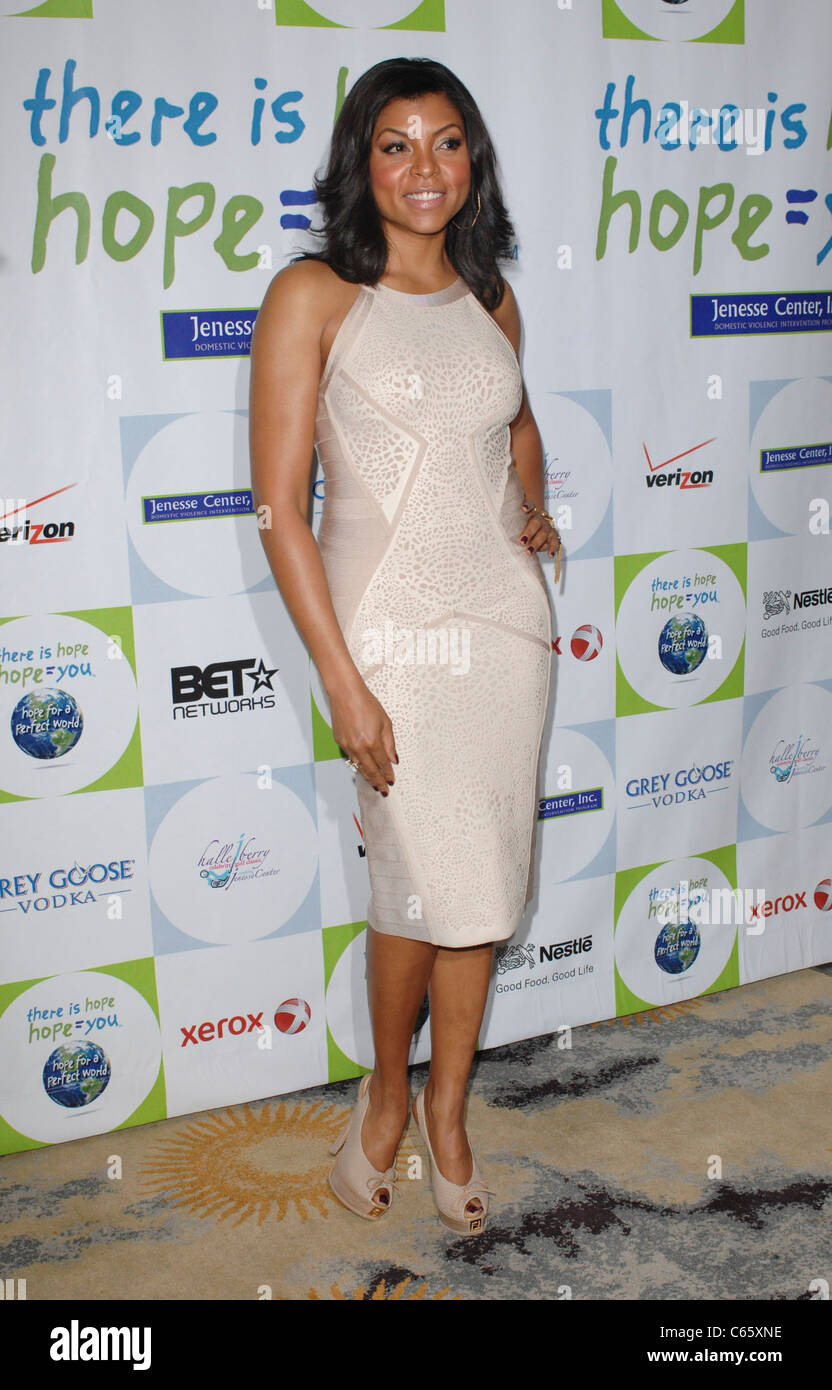 24802d96d8fa11 Taraji P. Henson (wearing a Herve Leger dress) at arrivals for Silver Rose