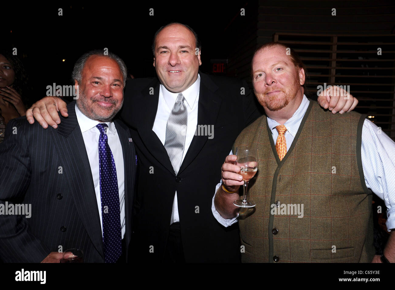 Bo Dietl, James Gandolfini, Mario Batali in attendance for A Stock ...