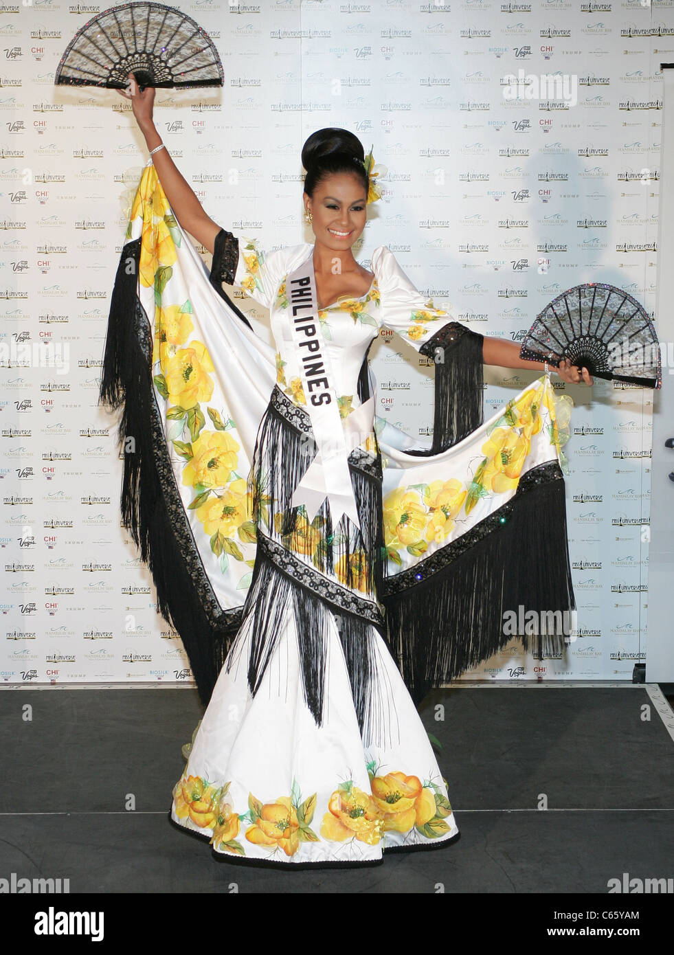 Venus Raj (Miss Philippines) at arrivals for Miss Universe National Costume Parade, Mandalay Bay Resort & Casino, - Stock Image