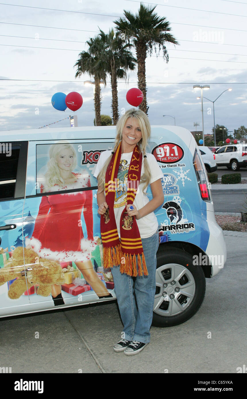 Angel Porrino At A Public Appearance For Angel Porrino At The Holly Jolly  Toy Drive,