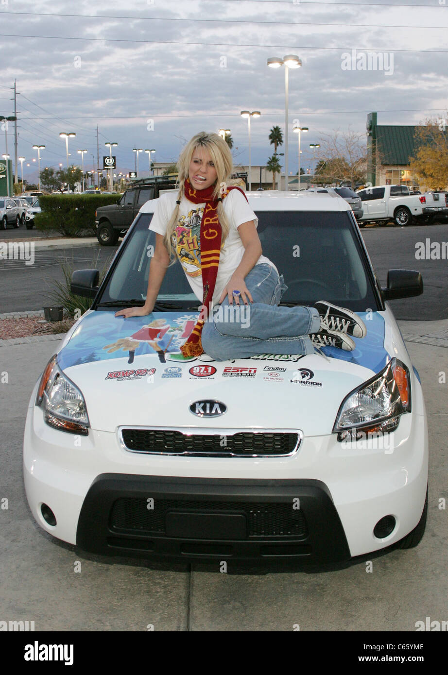 Perfect Angel Porrino At A Public Appearance For Angel Porrino At The Holly Jolly  Toy Drive, Findlay Kia, Las Vegas, NV December 16, 2010.