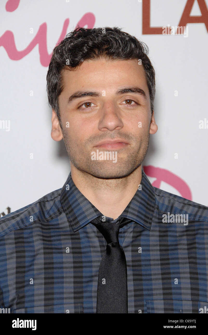 Oscar Isaac at arrivals for DRIVE Premiere, Regal Cinemas L.A. Live Stadium 14, Los Angeles, CA June 17, 2011. Photo - Stock Image