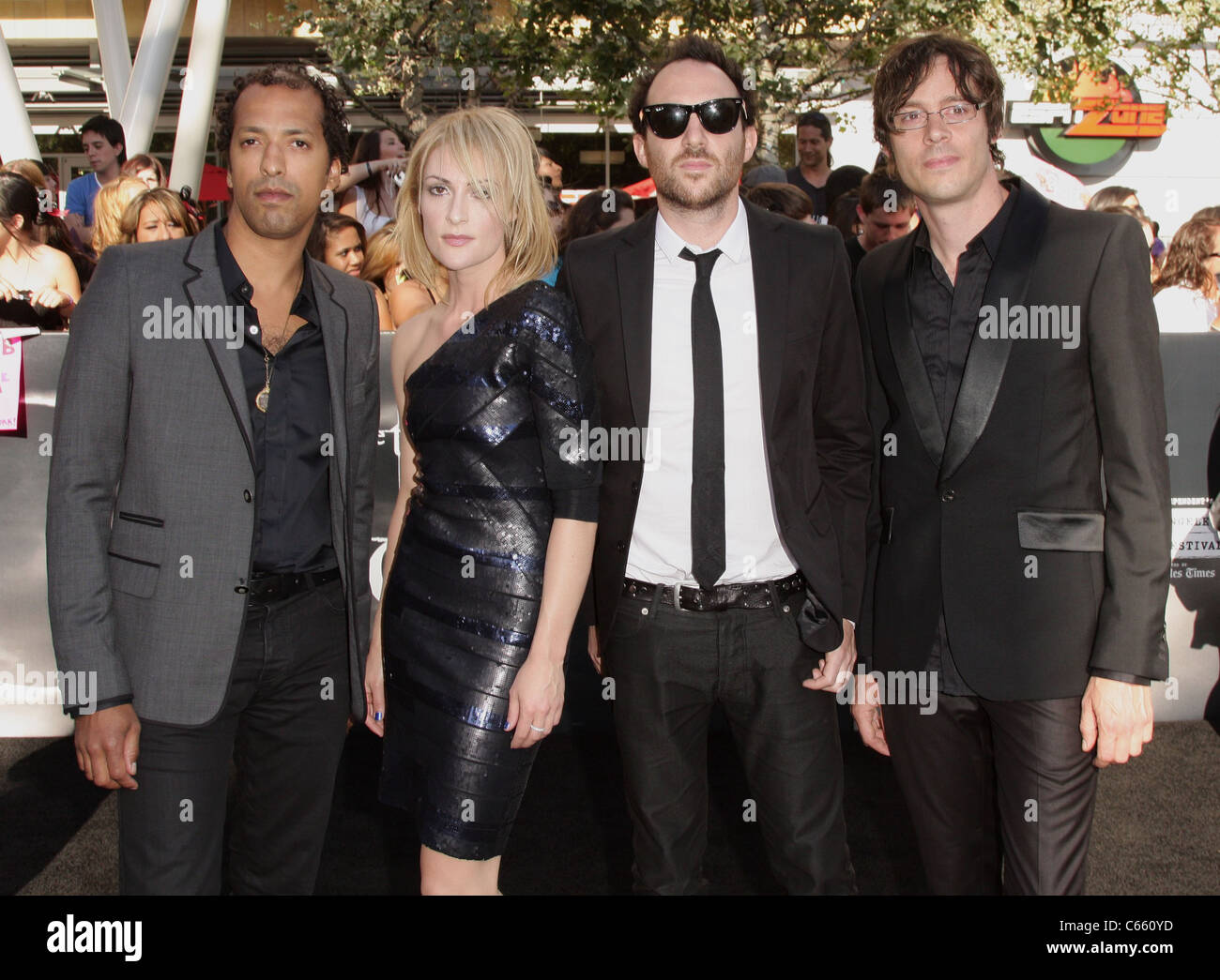 Metric at arrivals for THE TWILIGHT SAGA: ECLIPSE Premiere, Nokia Theatre L.A. LIVE, Los Angeles, CA June 24, 2010. - Stock Image