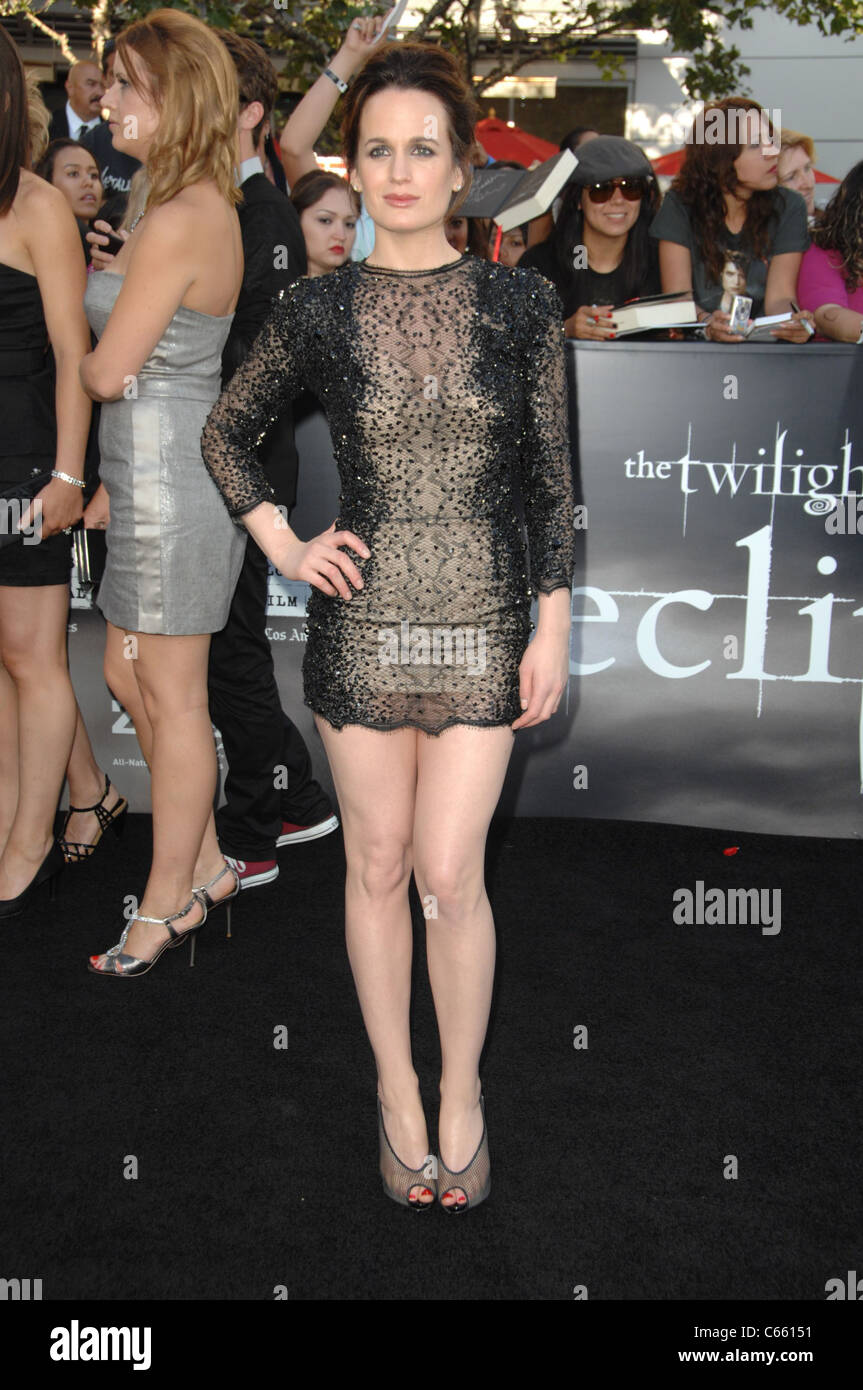 Elizabeth Reaser (wearing a Zuhair Murad dress) at arrivals for THE ...