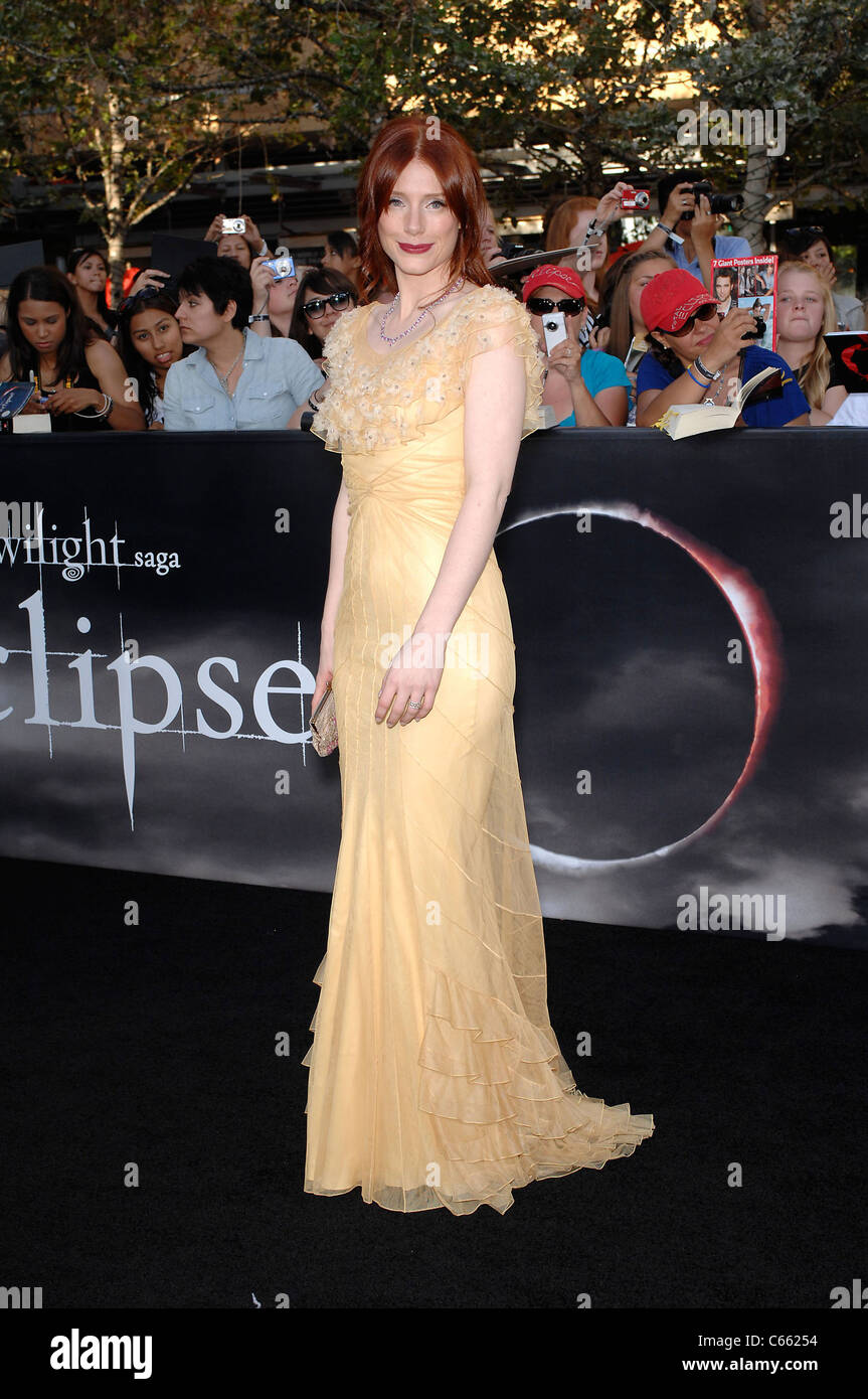 Bryce Dallas Howard (wearing a Christian Dior gown) at arrivals for ...