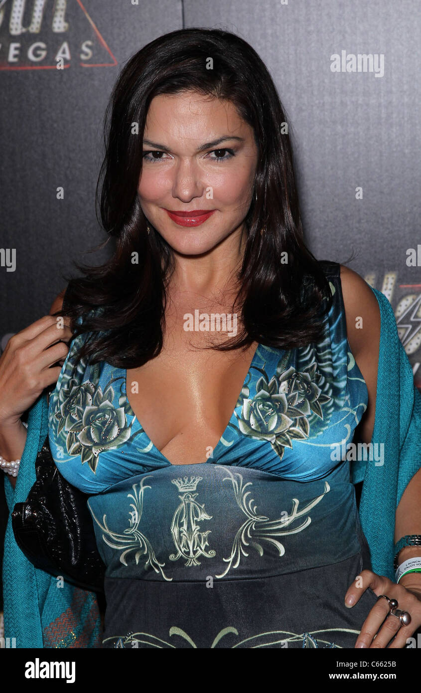 Laura Harring in attendance for FALLOUT: NEW VEGAS Launch Party, Rain at Palms Resort & Casino, Las Vegas, NV October Stock Photo
