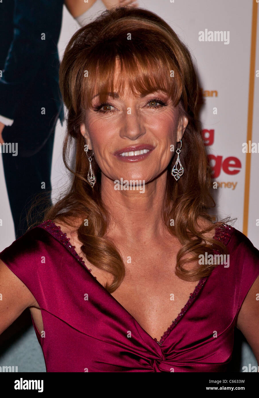 Jane Seymour at arrivals for LOVE WEDDING MARRIAGE Premiere, Pacific Design Center, Los Angeles, CA May 17, 2011. Stock Photo