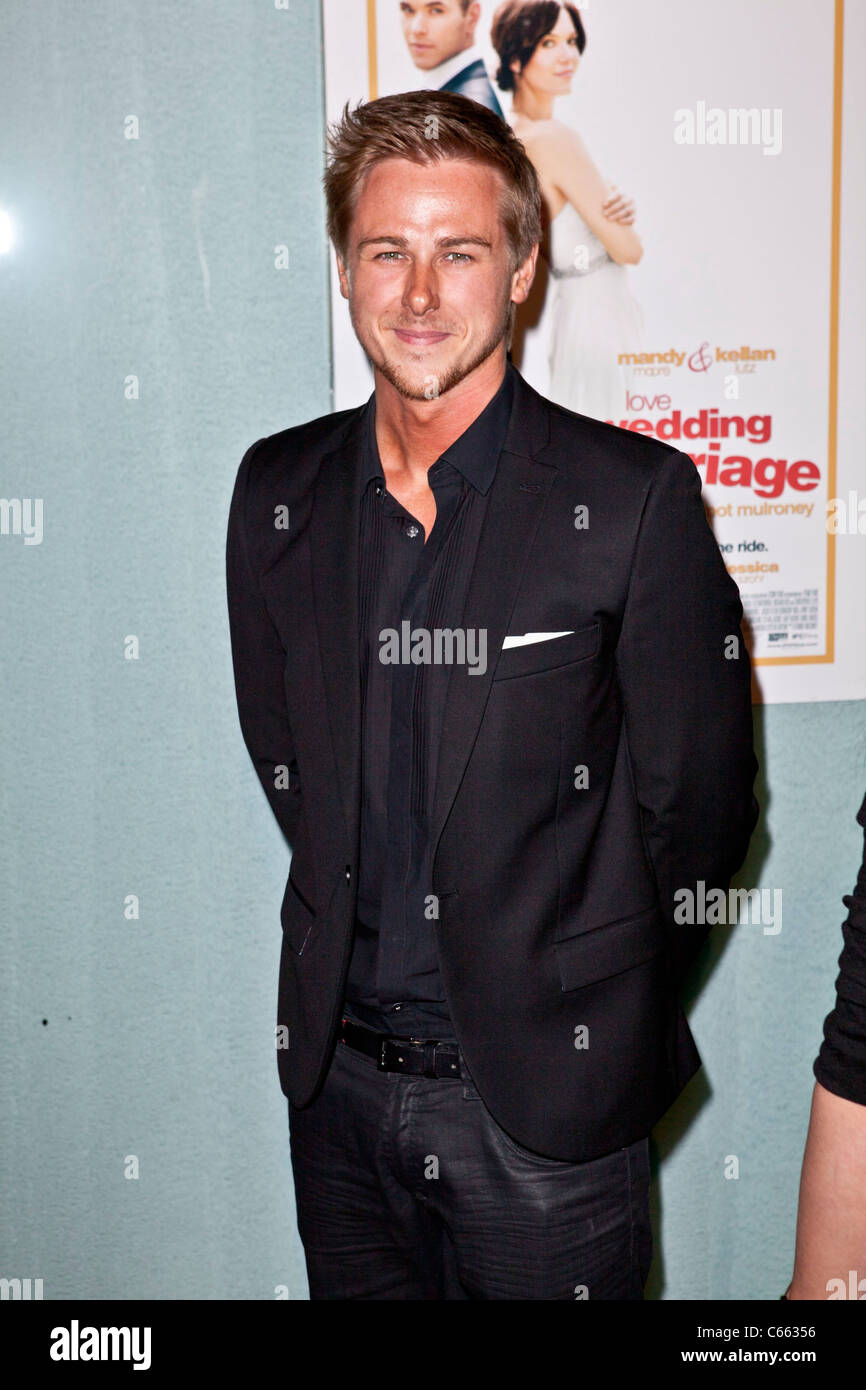 Richard Reid at arrivals for LOVE WEDDING MARRIAGE Premiere, Pacific Design Center, Los Angeles, CA May 17, 2011. Stock Photo