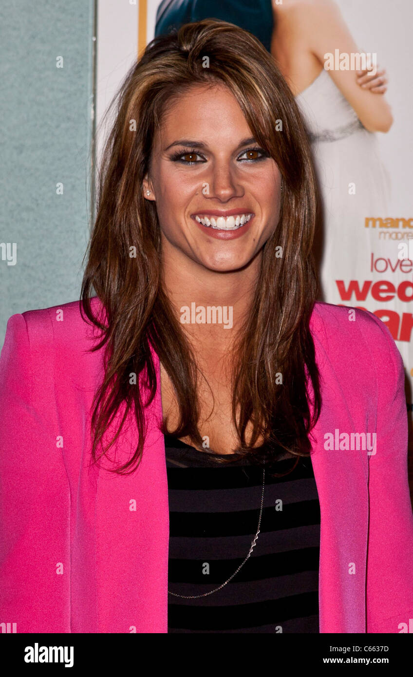Missy Peregrym at arrivals for LOVE WEDDING MARRIAGE Premiere, Pacific Design Center, Los Angeles, CA May 17, 2011. Stock Photo