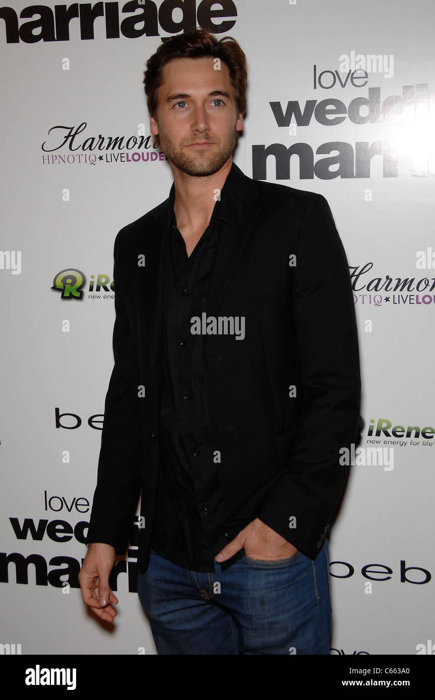 Ryan Eggold at arrivals for LOVE WEDDING MARRIAGE Premiere, Pacific Design Center, Los Angeles, CA May 17, 2011. Stock Photo