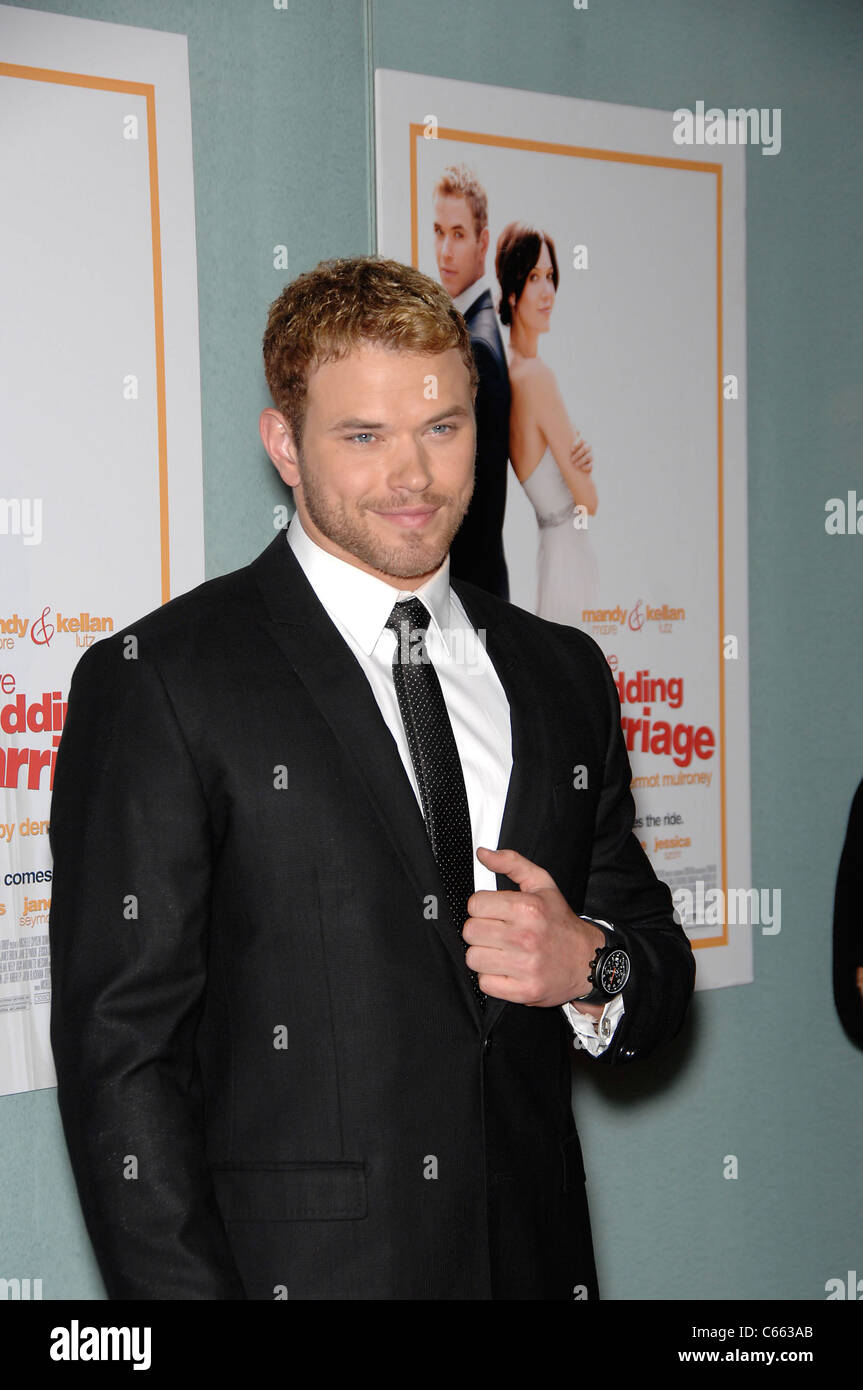 Kellan Lutz at arrivals for LOVE WEDDING MARRIAGE Premiere, Pacific Design Center, Los Angeles, CA May 17, 2011. Stock Photo
