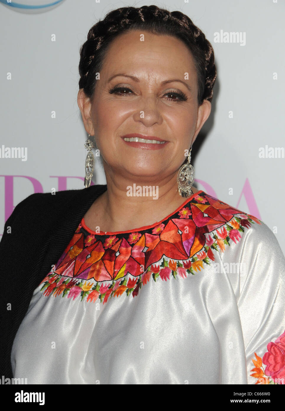 Adriana Barraza at arrivals for FROM PRADA TO NADA Premiere, LA Live Regal Cinemas Premiere, Los Angeles, CA January Stock Photo