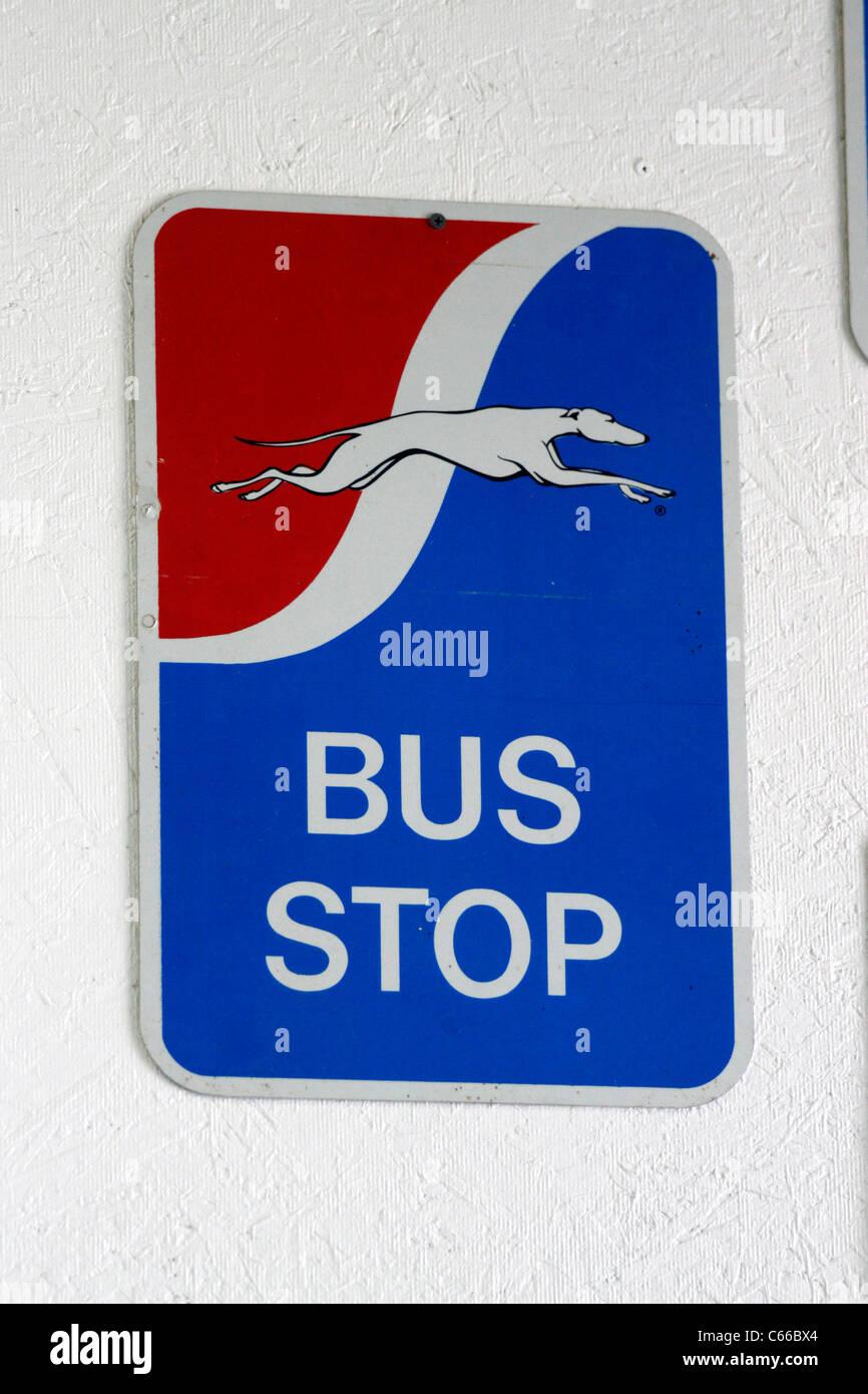 Greyhound Bus Stop Stock Photos Greyhound Bus Stop Stock Images
