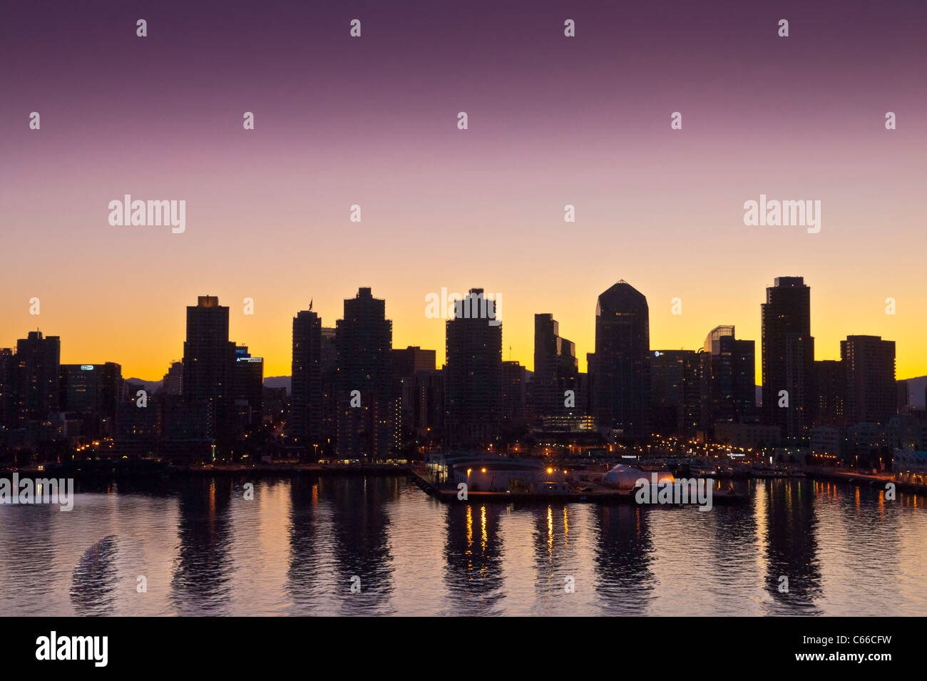 San Diego is the eighth-largest city in the United States and second-largest city in California. - Stock Image