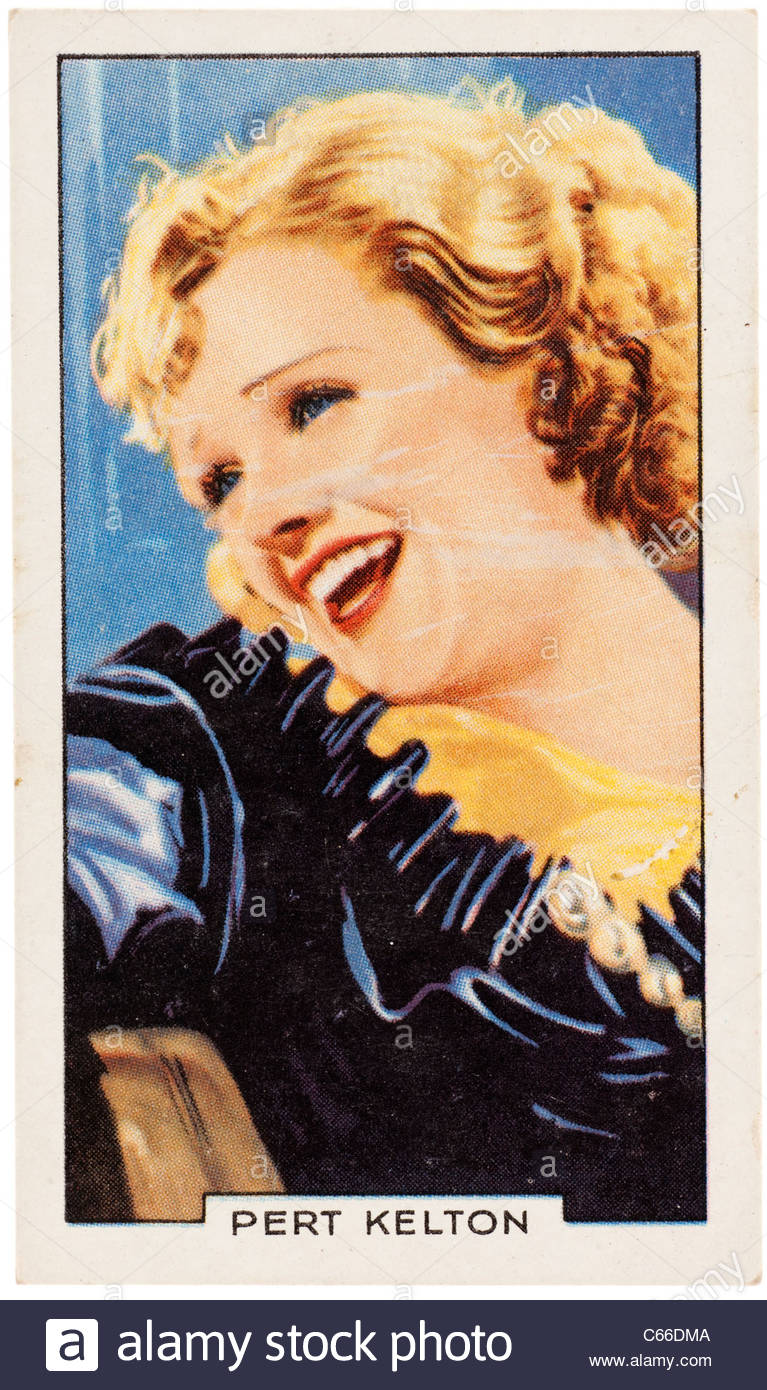 Pert Kelton 1907 to1968  was an American vaudeville, movie, radio and television actress. EDITORIAL ONLY - Stock Image
