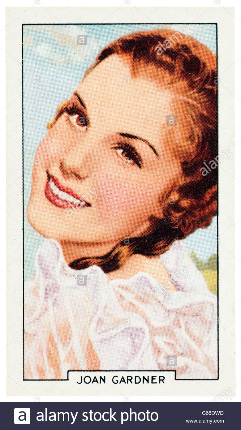 Joan Gardner 1914 to 1999  was a British actress and film star. EDITORIAL ONLY - Stock Image