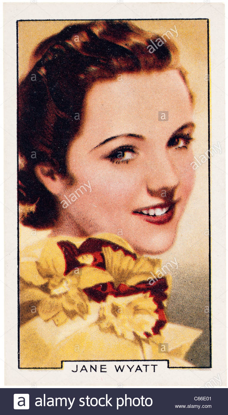 Jane Waddington Wyatt 1910  to 2006 an American actress and film star. EDITORIAL ONLY - Stock Image