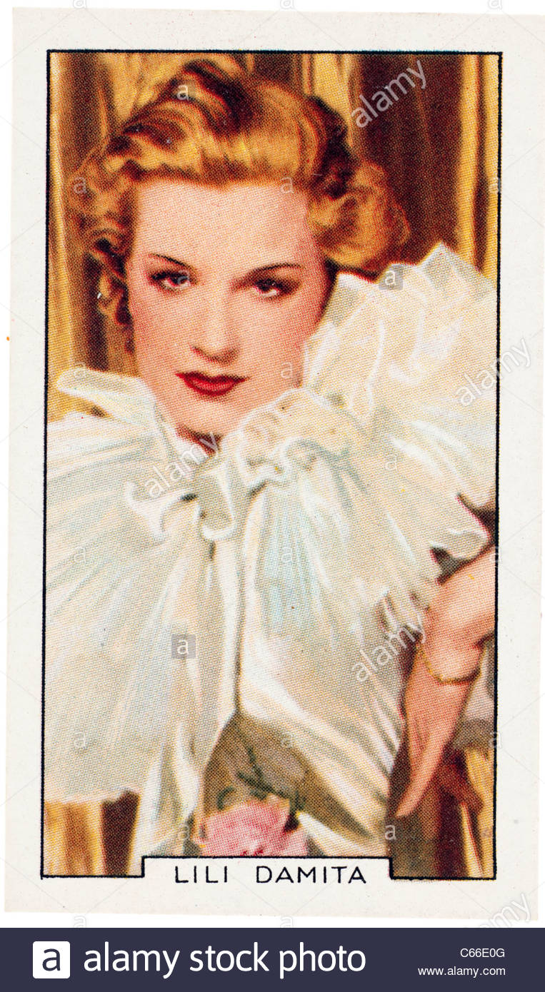 Lili Damita 1904 to 1994 was a French actress who appeared in 33 movies between 1922 and 1937. EDITORIAL ONLY - Stock Image