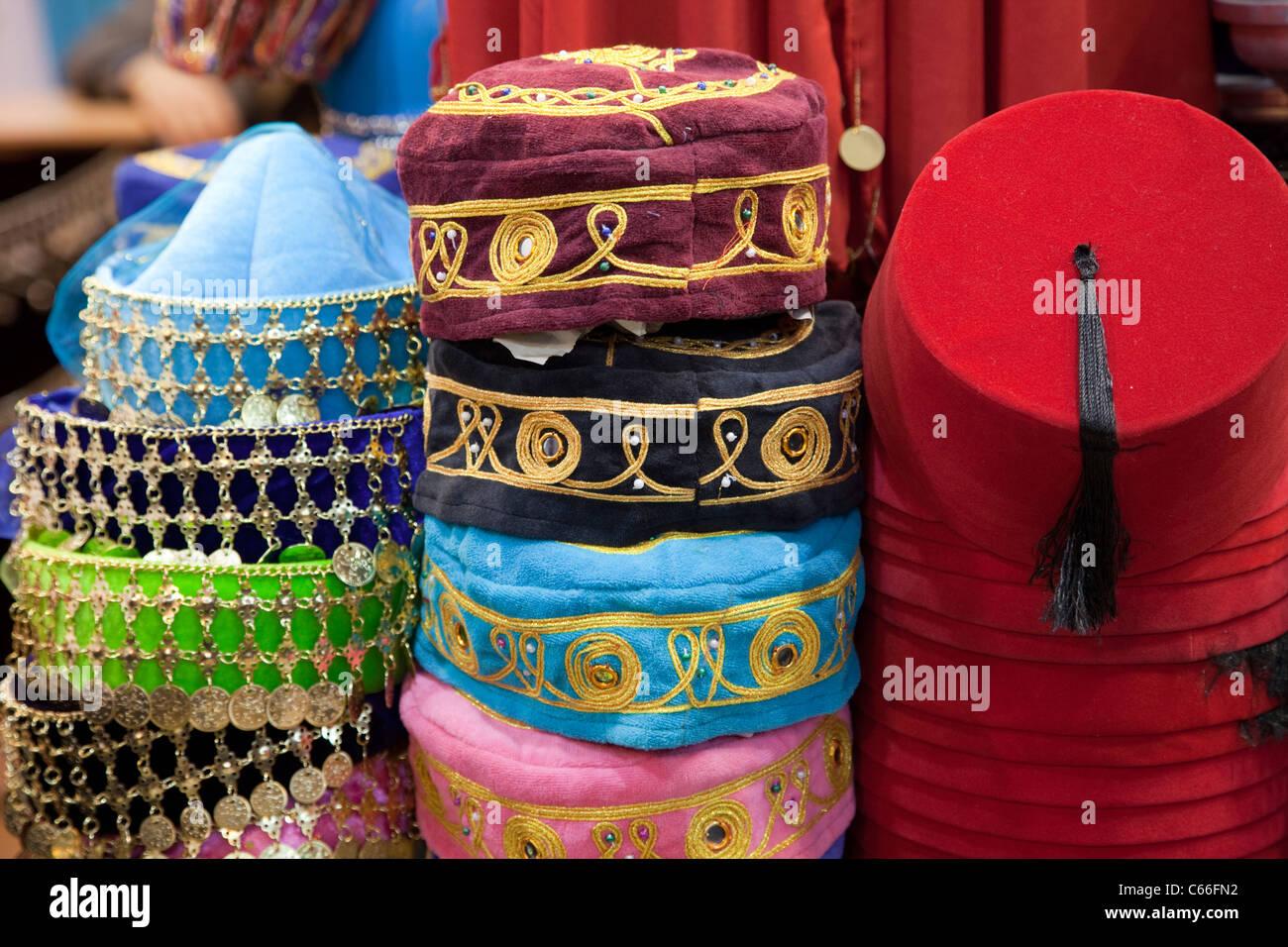 Traditional Turkish Headwear Stock Photos & Traditional